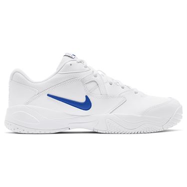Nike Court Lite 2 Mens Tennis Shoe White/Hyper Royal AR8836 124
