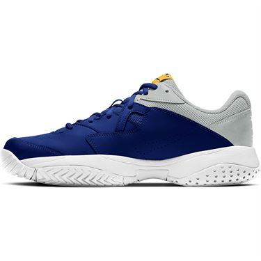 Nike Court Lite 2 Mens Tennis Shoe Deep Royal Blue/Coast/Light Smoke Grey AR8836 401
