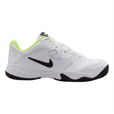 Nike Court Lite 2 Mens Tennis Shoe White/Black/Volt AR8837 107