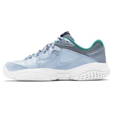Nike Court Lite 2 Womens Tennis Shoe Football Grey/Midnight Navy AR8838 004