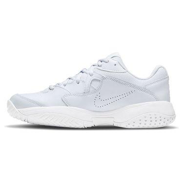 Nike Court Lite 2 Womens Tennis Shoe Football Grey/Bright Crimson/White AR8838 005