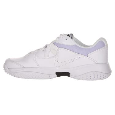 Nike Court Lite 2 Womens Tennis Shoe - White/Black/Oxygen Purple