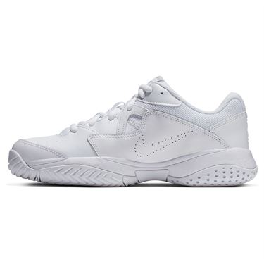 Nike Court Lite 2 Womens Tennis Shoe - White/Metallic Silver