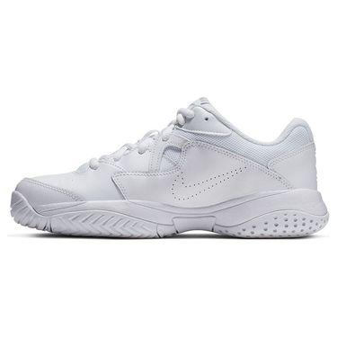 Nike Court Lite 2 Womens Tennis Shoe - White/Metallic Silver