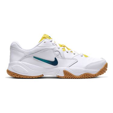 Nike Court Lite 2 Womens Tennis Shoe White/Valerian Blue/Oracle Aqua AR8838 102