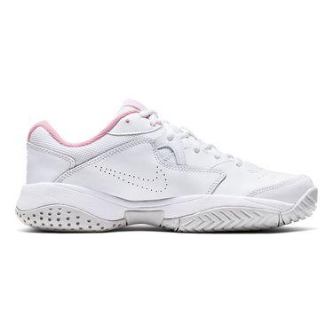 Nike Court Lite 2 Womens Tennis Shoe White/Photon Dust/Pink Foam AR8838 104