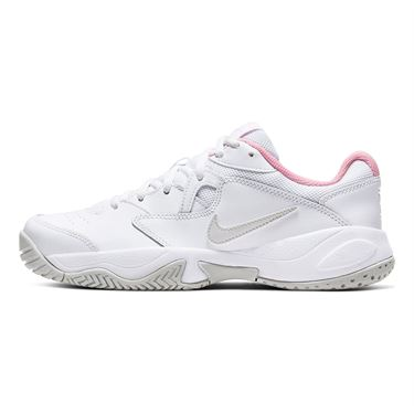 Nike Court Lite 2 Womens Tennis Shoe White/Photon Dust/Pink Foam AR8838 104