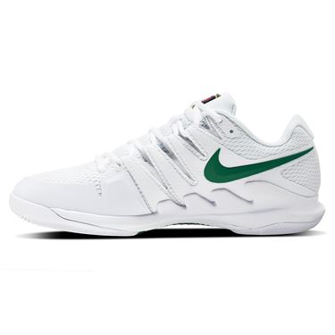 Nike Court Vapor X Junior Tennis Shoe White/Clover AR8851 102
