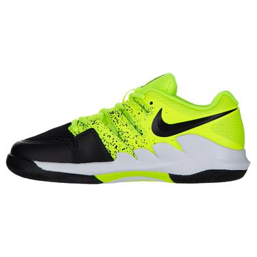 Nike Court Vapor X Junior Tennis Shoe Volt/Black/White AR8851 702