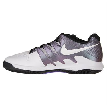 Nike Junior Vapor X tennis Shoe - Multi Color/White/Black/Psychic Purple