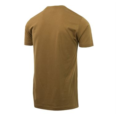 Western and Southern Open Circle Shield Tee - Brown
