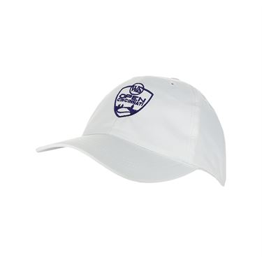 Western and Southern Open Logo Hat - White/Blue