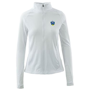 W&S Full Zip Jacket Womens White ASW19 22