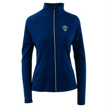 W&S Full Zip Jacket Womens Navy ASW19 23