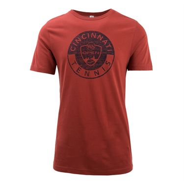 W&S Circle Logo Tee Red ASW19 33
