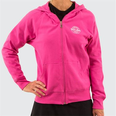 W&S Pique Hoodie Womens Candy Pink ASW19 38