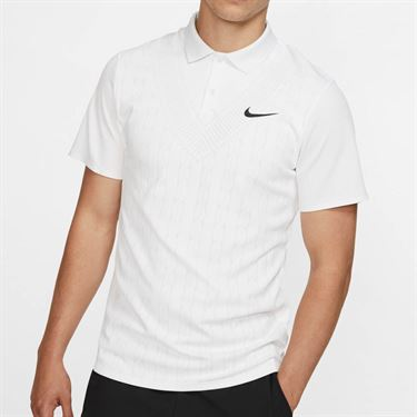 Nike Court Advantage Polo - White/Black