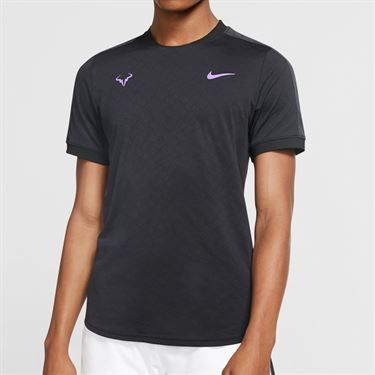 Nike Court Rafa Crew - Black/Bright Violet