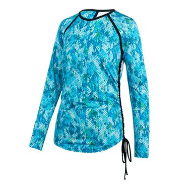 Eleven Atlanta Tangle Long Sleeve Top - Atlanta Print