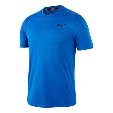 Nike Court Dri Fit Crew Mens Game Royal/White AT4305 480