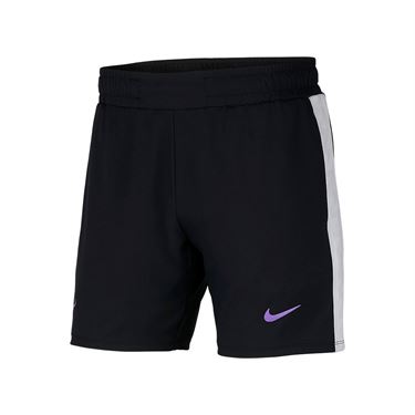 Nike Court Rafa 7 Inch Short - Black/Bright Violet