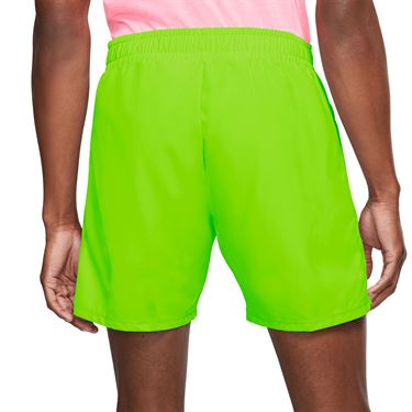Nike Court Dri Fit Rafa Short Mens Volt/Black AT4315 702