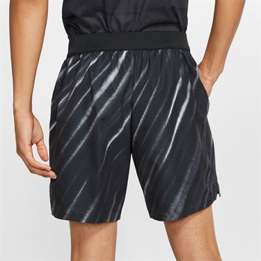 Nike Court Flex Ace Short NY - Off Noir/Volt