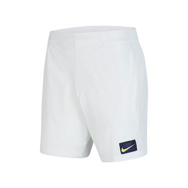 Nike Court Flex Ace Short NY - White/Volt
