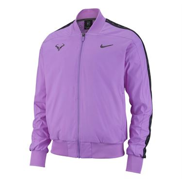 Nike Court Rafa Jacket - Bright Violet/Black