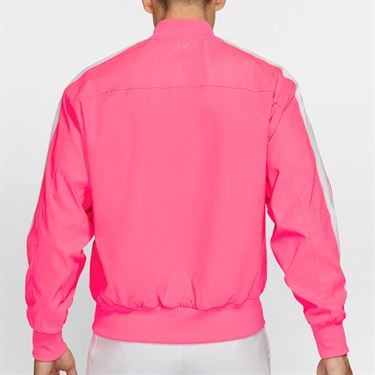 Nike Court Rafa Full Zip Jacket Mens Digital Pink/Gridiron AT4367 679