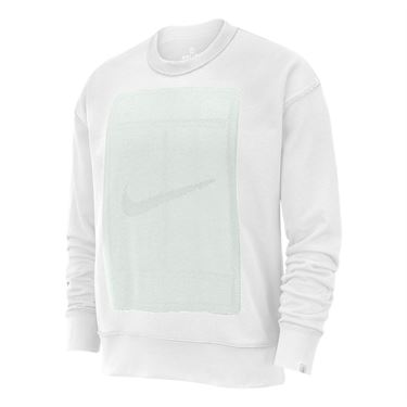 Nike Court Reversible Fleece Long Sleeve - White/Platinum Tint