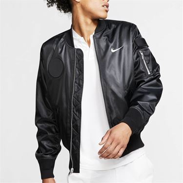 Nike Court Slam Jacket - Black/White