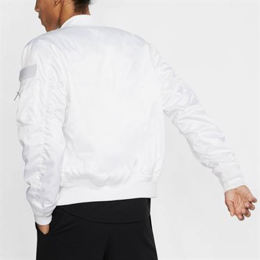 Nike Court Slam Jacket - White/Black