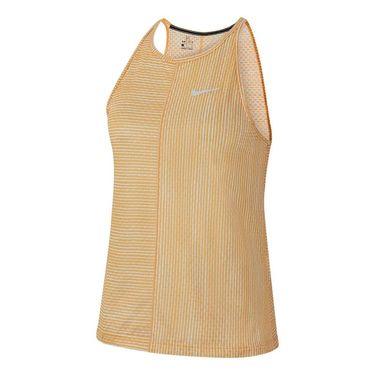 Nike Court Printed Tank - Celestial Gold/White