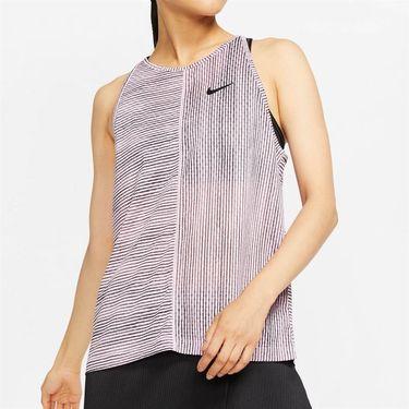 Nike Court Tank Womens Pink Rise/White AT4726 629