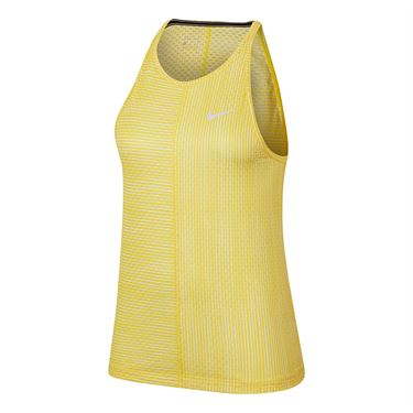 Nike Court Tank Womens Opti Yellow/White AT4726 731