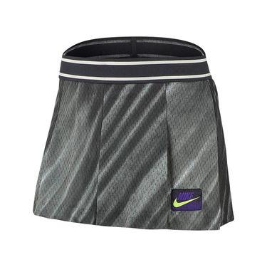 Nike Court Slam New York Short - Off Noir/Black/Court Purple/Volt