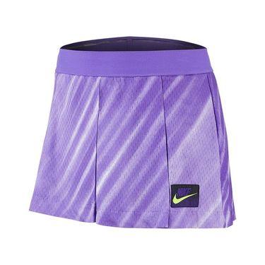 Nike Court Slam New York Short - Psychic Purple/Black/Court Purple/Volt