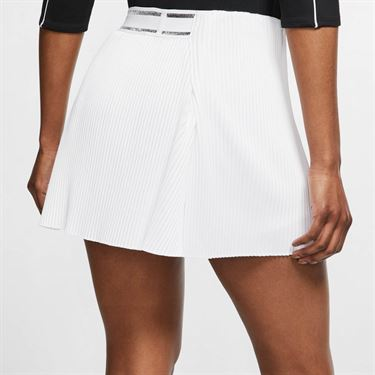 Nike Court Slam Victory Skirt - White/Black