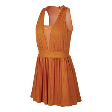 Nike Court Maria Dry Dress - Monarch/Hyper Crimson/Gridiron
