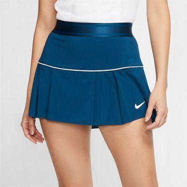 Nike Court Victory Skirt Womens Valerian Blue/White AT5724 432