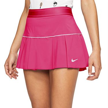 Nike Court Victory Skirt Womens Vivid Pink/White AT5724 616