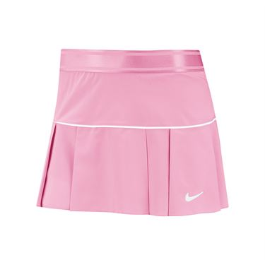 Nike Court Victory Skirt Womens Pink Rise/White AT5724 629