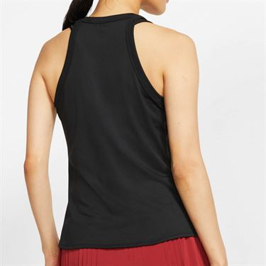 Nike Court Dri Fit Tank Womens Black/White AT8983 010