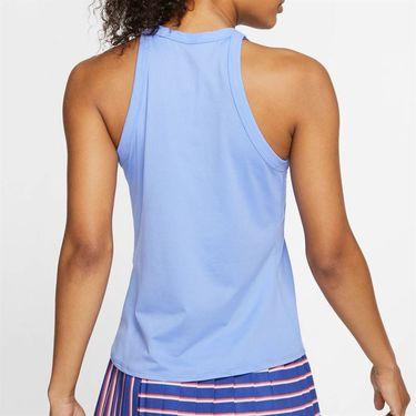 Nike Court Dri Fit Tank Womens Royal Pulse/White AT8983 478