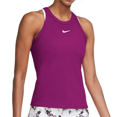 Nike Court Dri Fit Tank Womens Cactus Flower/White AT8983 564