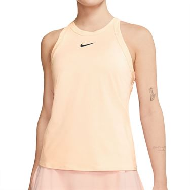 Nike Court Dri Fit Tank Womens Guava Ice/Black AT8983 838