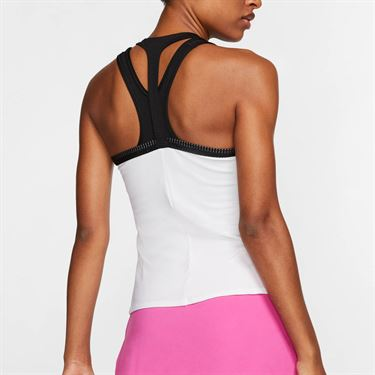 Nike Maria Tank Womens White/Black/China Rose AT9182 100