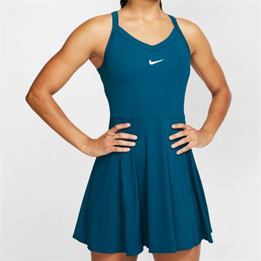 Nike Court Dri Fit Dress Womens Valerian Blue/White AV0724 432