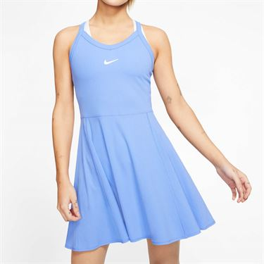 Nike Court Dri Fit Dress Womens Royal Pulse/White AV0724 478